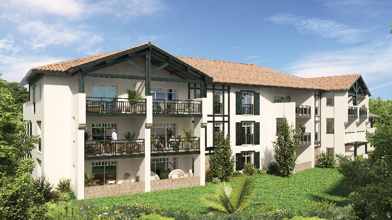 Programme immobilier Itsas Giroa, Bidart